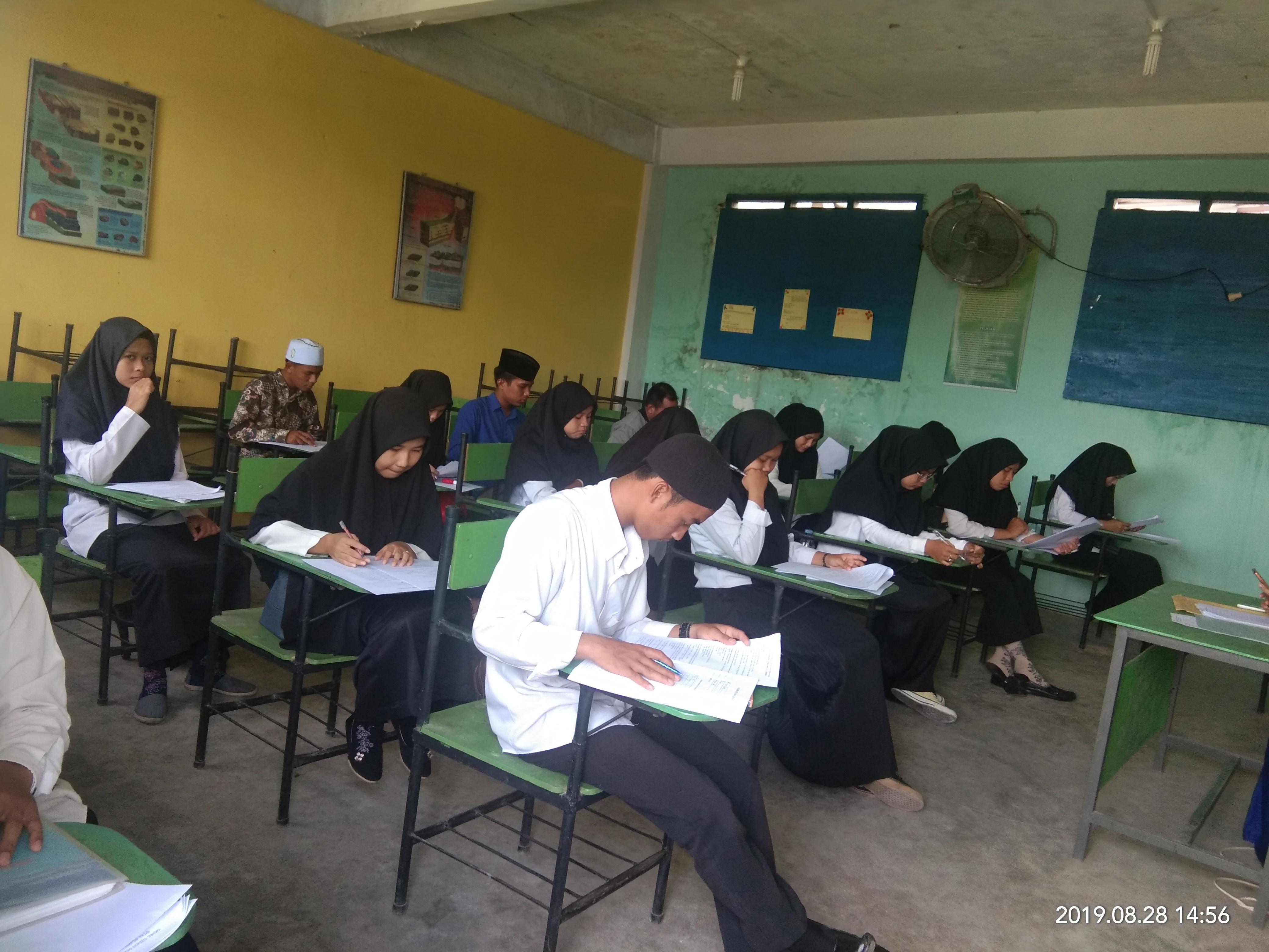 Seleksi ujian masuk mahasiswa/i STAI Al-hikmah Tanjungbalai T.A 2019