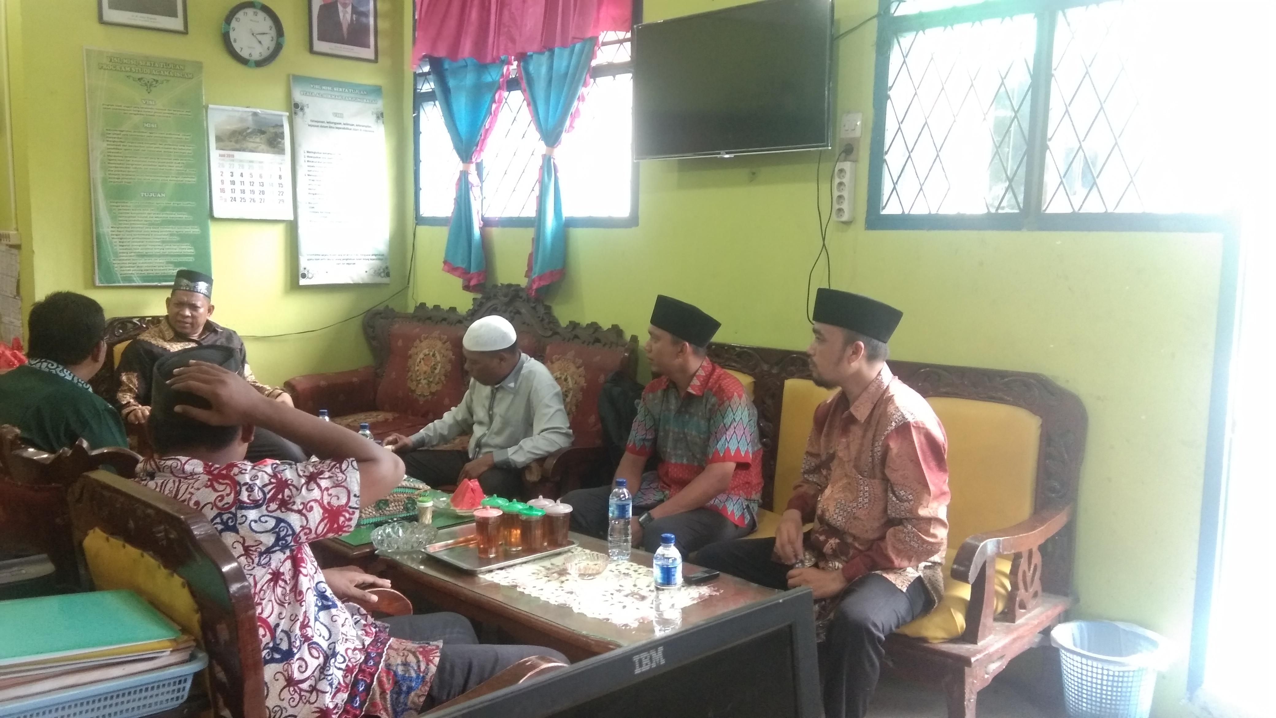 Kunjungan Rektor UIN Sumatera Utara Bapak Prof. Dr. Saidurrahman, M.ag ke Kampus STAI Al-Hikmah Tanjungbalai